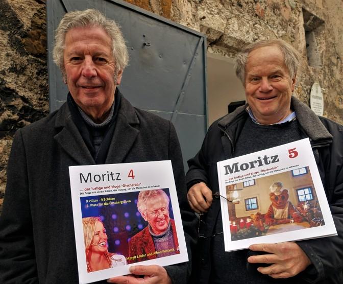 Komarek und Piaty Moritzbuch 14.12.2016 Foto ORF