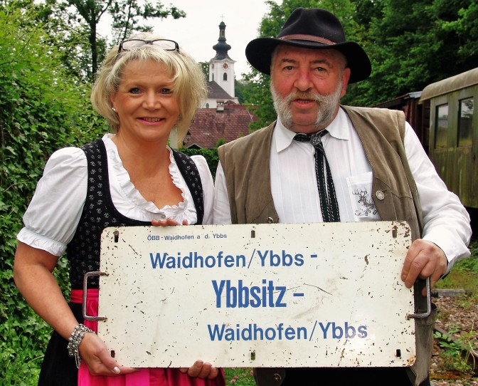 Marko und Renate Ybbsitz und Tafel