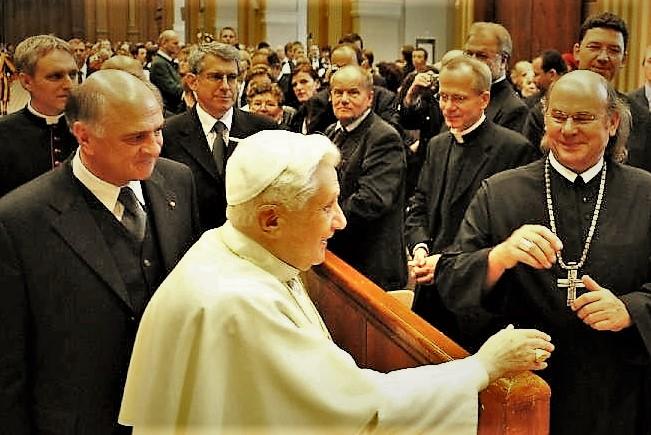 Papstaudienz Dez. 08 Foto Pressestelle Vatikan 3