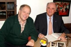 Piaty Pröll Gästebuch mit Figl