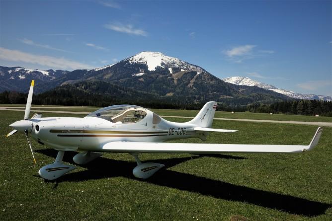 Gemeindealpe und Ötscher mit Flugzeug