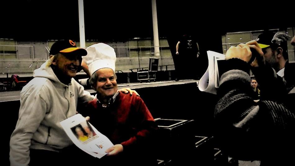 Otto und Karl Fotografieren