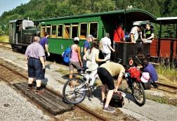 Lunz 24.6.2017 Räder im Zug