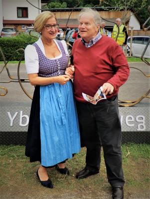 Mikl Leitner Piaty Eröffnung Ybbstalradweg hochformat