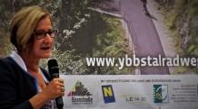 Mikl Leitner Ybbstalradweg Eröffnungsplakat
