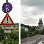 Radwegbeschilderungen