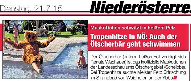 Heute Ötscherbär Bad (2)