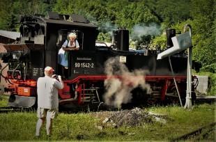 Karl und renate Dampflok