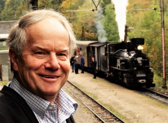 Mariazellerbahn Dampflok und karl Piaty