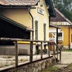 Schienenloser Bahnhof