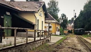 Ybbsitz Gleisabriss Bahnhof