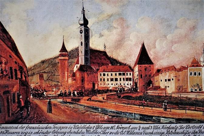 Amstettner Tor Eingang Unterer Stadtplatz