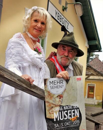 Eisenbahn-Museum Ybbsitz Renate Wachauer und Herbert Marko