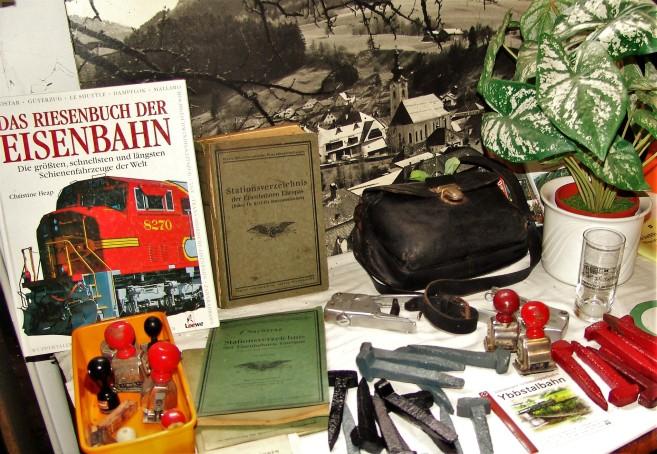 Eisenbahnmuseum Ybbsitz alte Dokumente Bilder