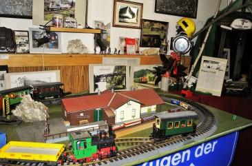Eisenbahnmuseum Ybbsitz Denkmalgeschützer Bahnhof