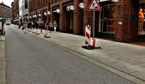 Hamburg Hanseviertel Grauasphalt