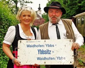Herbert Marko und Renate Wachauer Eisenbahnmuseum Ybbsitz