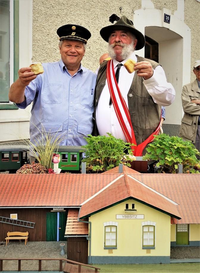 Karl Piaty Herbert Marko hoch Bahnhof Ybbsitz