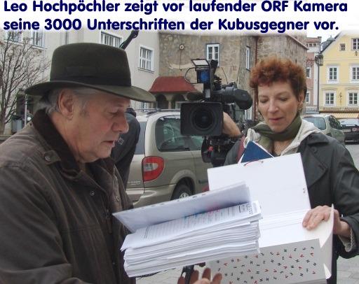 Klimek Unterschriften int