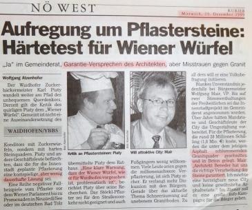 Kurier Pflaster 1999