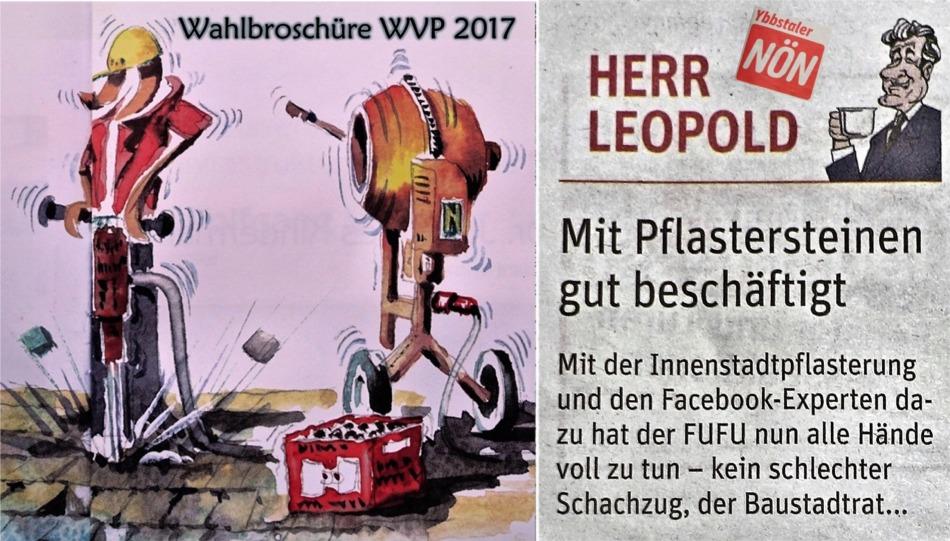 Pflaster 2017 WVP und FUFU