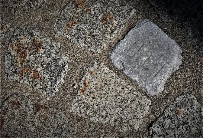 Stein mit Schrift Erbgasser Waidhofen an der Ybbs nahe