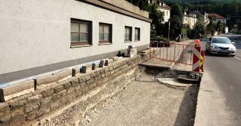 Baustelle Mühlstrasse 3