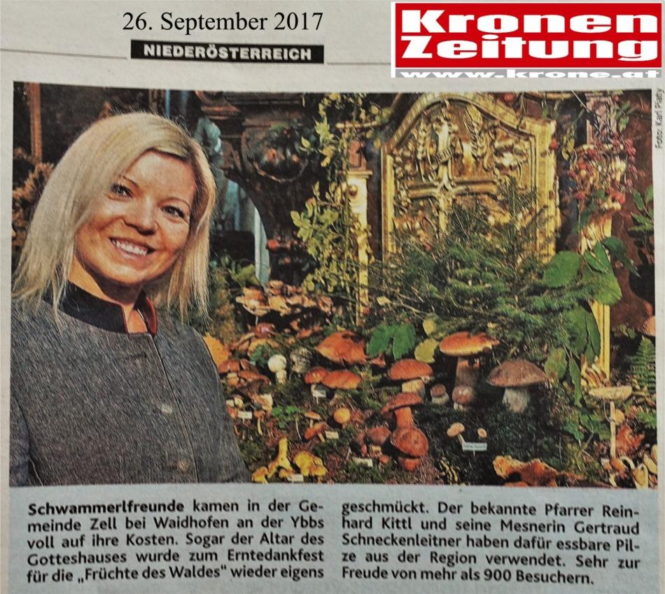Krone Logo Schwammerlaltar 26.9.2017