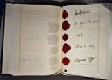Staatsvertrag Unterschriften