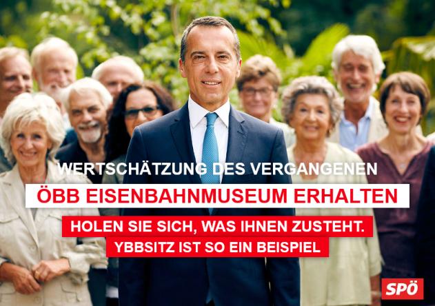 Vergangenheit erhalten SPÖ