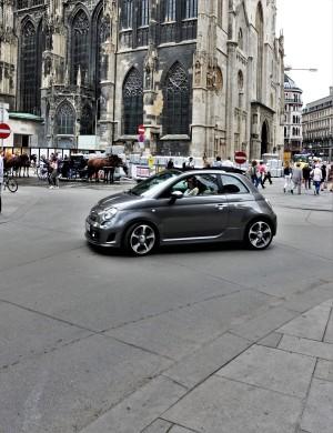 Wien Stephansplatz 2 Fahrbahnen Beton 2017