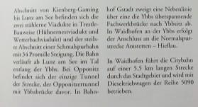 Broschüre Ybbstalbahn 2
