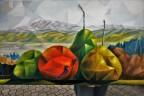 Birnen kubistisch