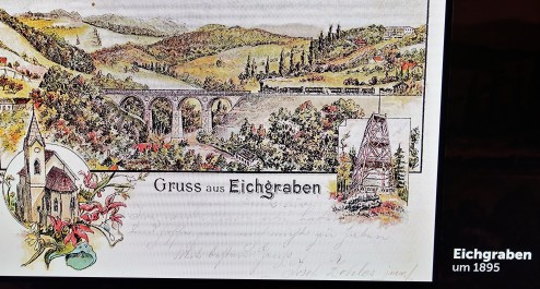 Eisenbahn Postkarte