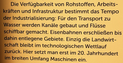 Eisenbahnen technologischer wettlauf