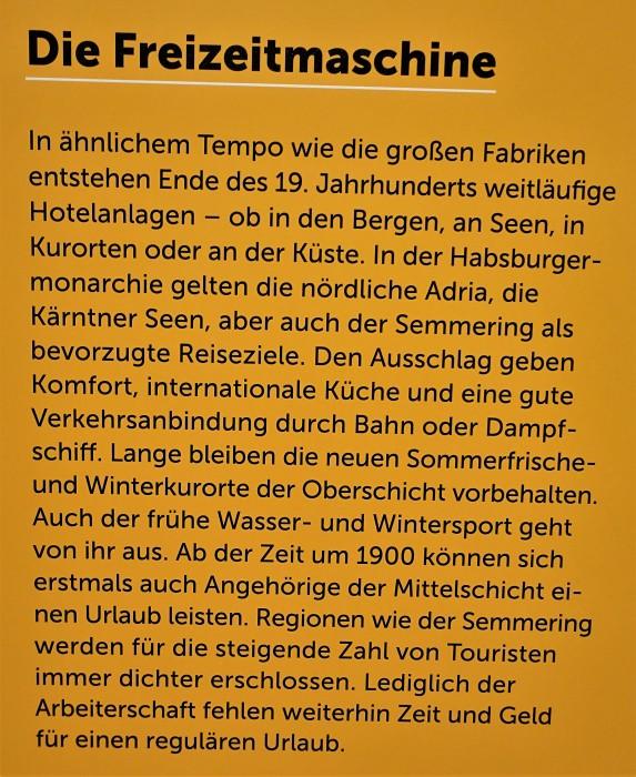 Freizeitmaschine Tourismus