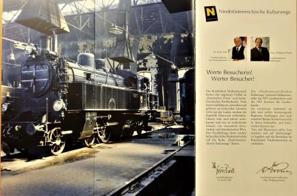 Innenseite Broschüre Eisenbahnen