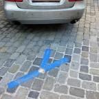 Parkplatz – Markierung