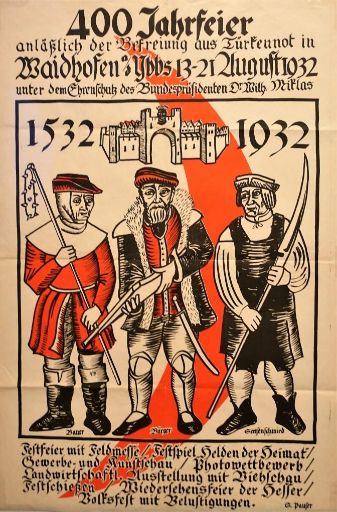 Plakat 400 Jahre Türkenbefreiung