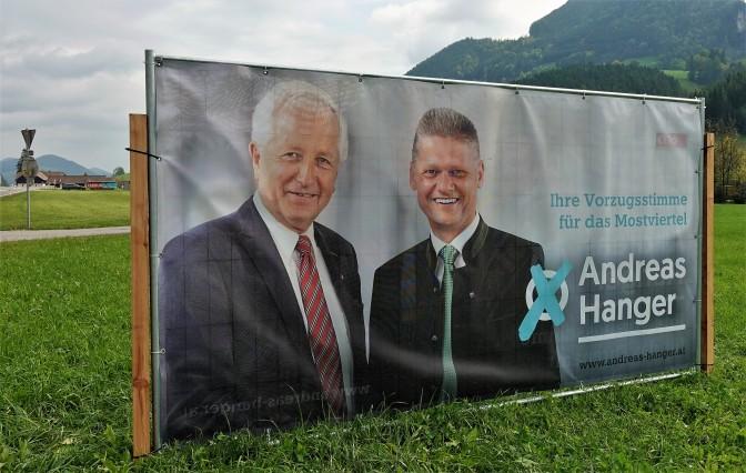 Plakat Hofmarcher Hanger Ederlehen