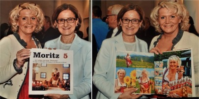 Buchübergabe an Mikl Leitner
