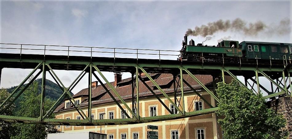 Dampflok in Waidhofen (Viadukt)