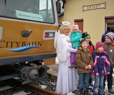 Christkindzug Waidhofen 24.12.2016 Kinder - Foto Karl Piaty