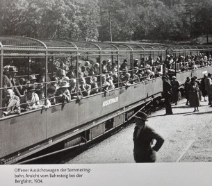Semmering offene Waggons
