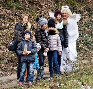Waldspaziergang Buchenberg Christkindzug