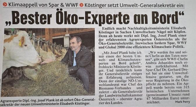 Plank Kronen Zeitung