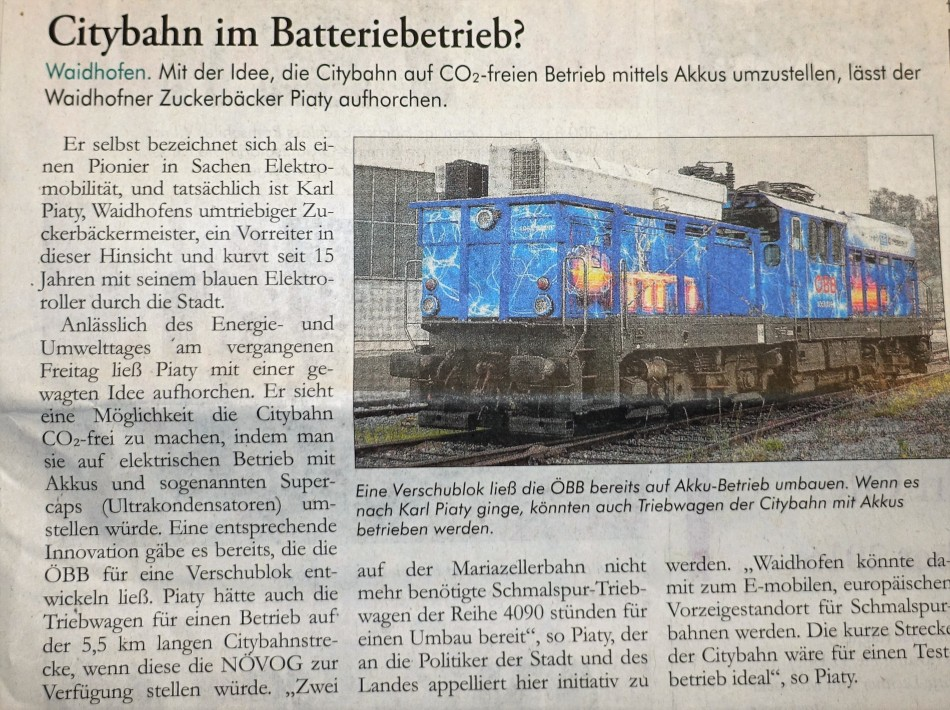 Ybbstaler Citybahn AKKU 28.10.2016