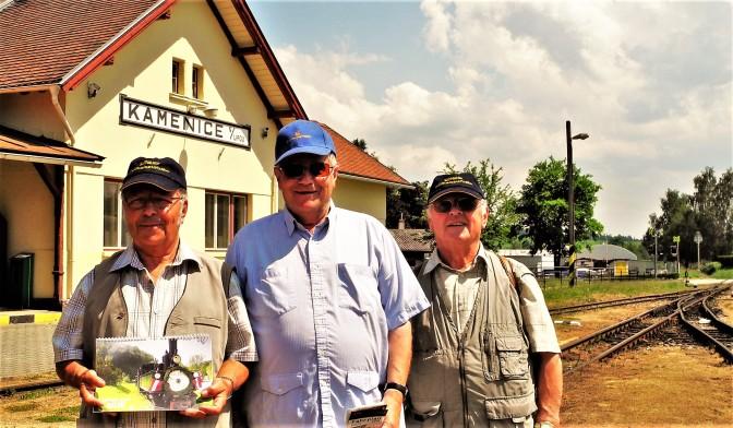 Zittauerbahn und Ybbstalbahn Club in Tschechien