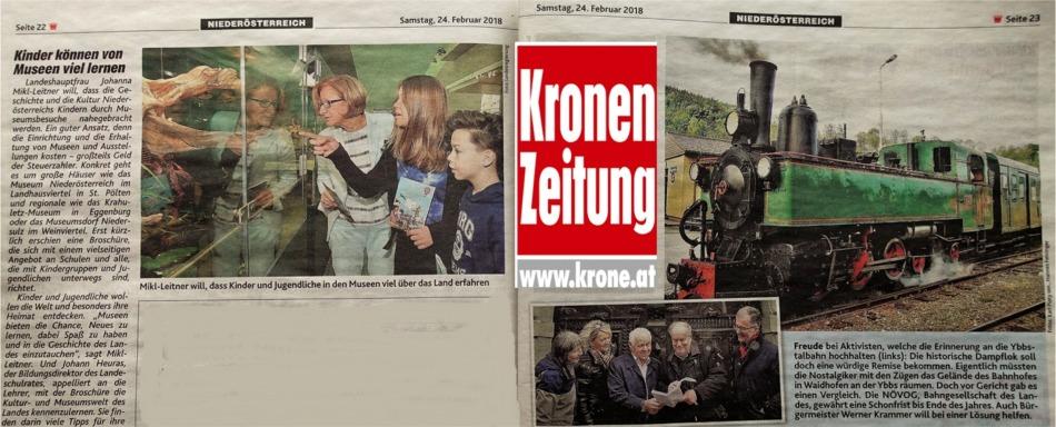 Doppelseite Museen Krone 24.2.2018