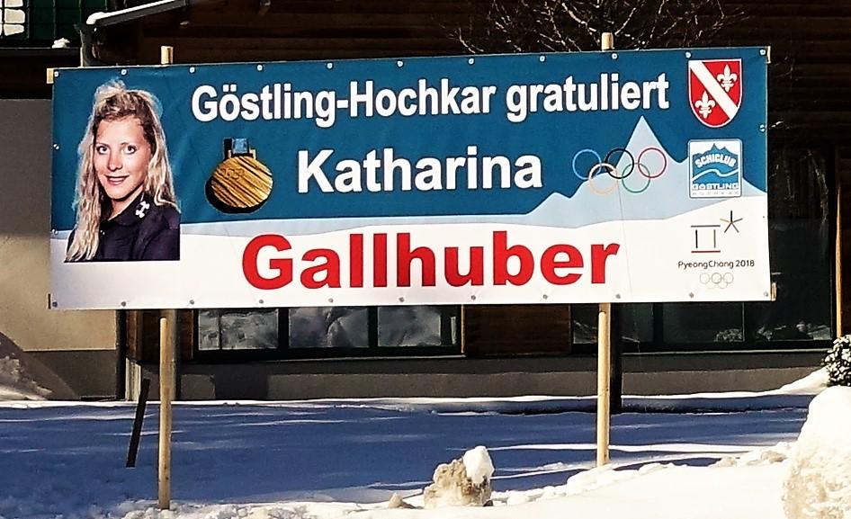 Gallhuber Plakat in Göstling